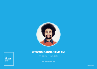 #getTOknow: The Welcome Card