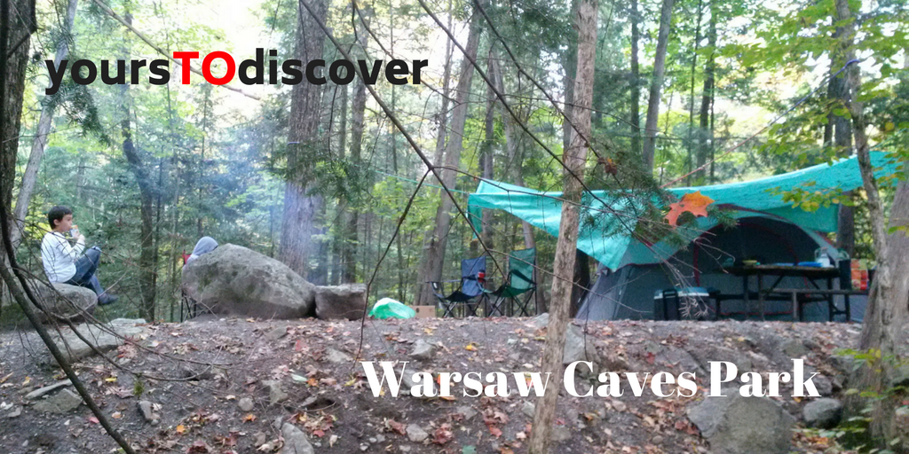 #yoursTOdiscover: Warsaw Caves Campground