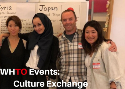 WHTO Events: Syria and Japan Culture Exchange
