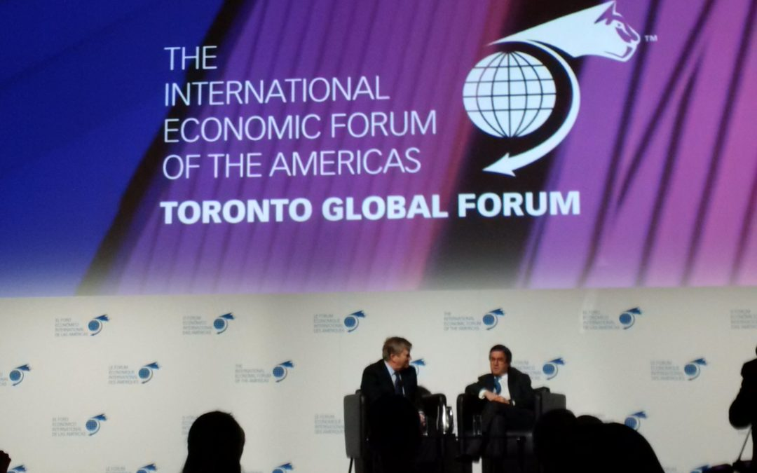 The Toronto Global Forum: Immigration and the Canadian Economy
